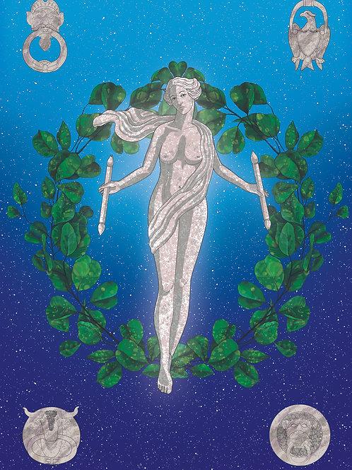 Tarot World card
