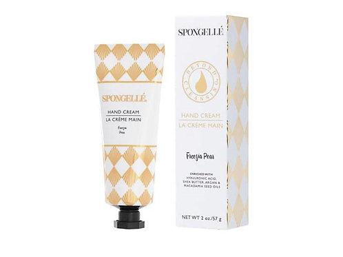 Spongelle Hand Cream Freesia Pear 2oz