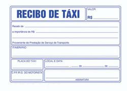 Recibo Taxi