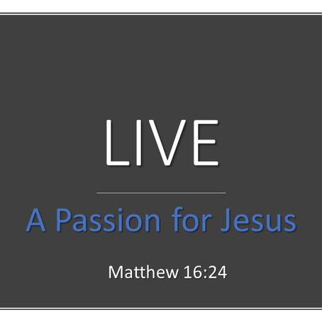 LIVE - A Passion for Jesus