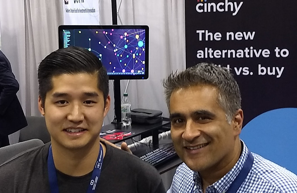 Cinchy, leading data fabric vendor, catching up with Tech Stars Co-hort