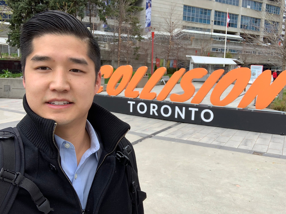 Collision 2019 Toronto technology financial services Cinchy data fabric