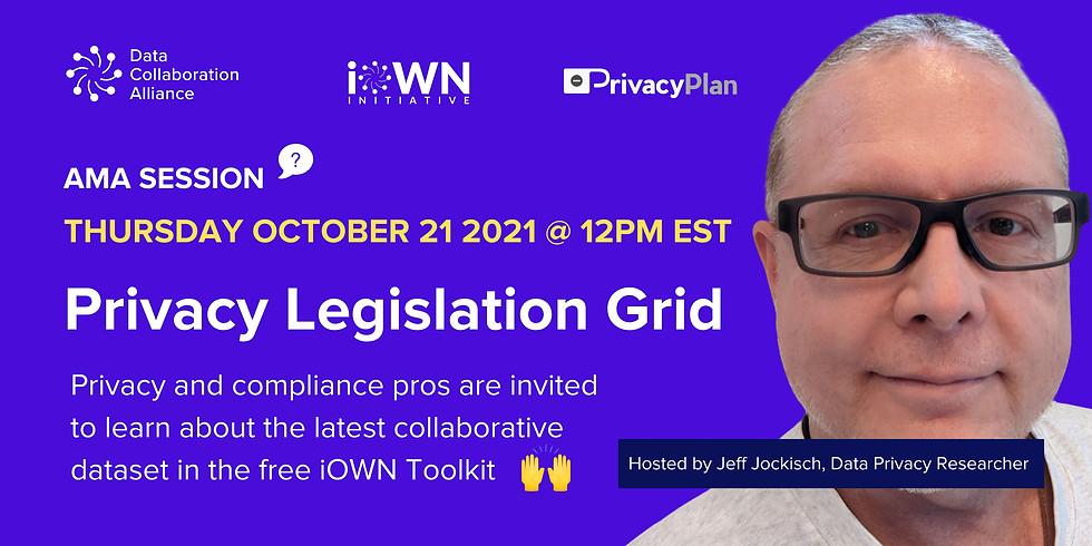 AMA: Data Privacy Legislation Grid
