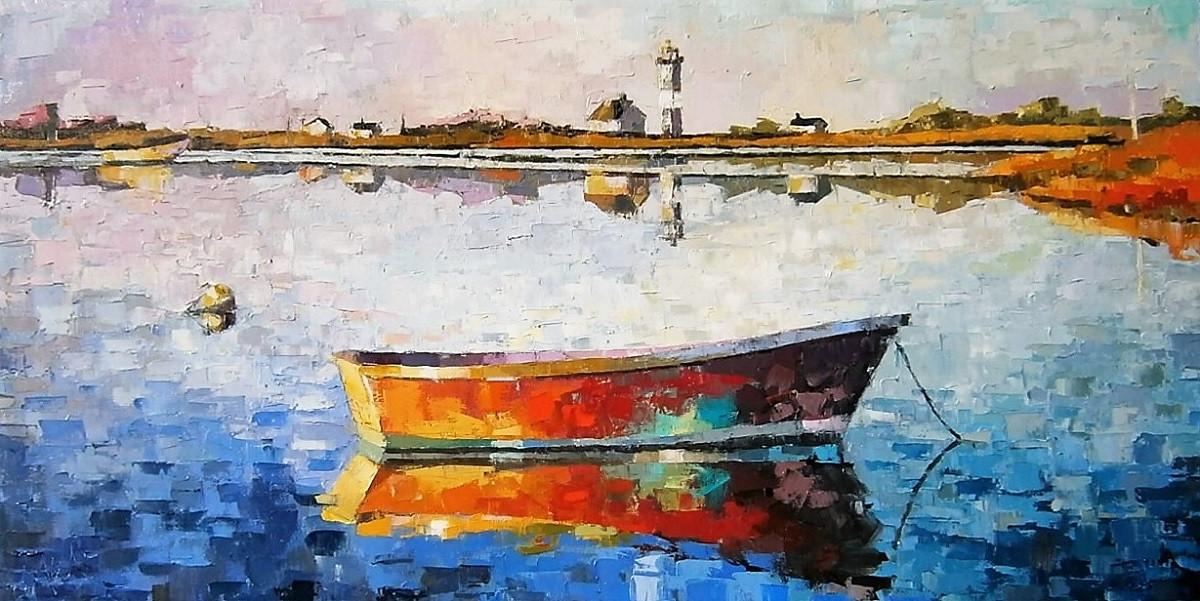 Boat Landscape Art   Kim McAninch