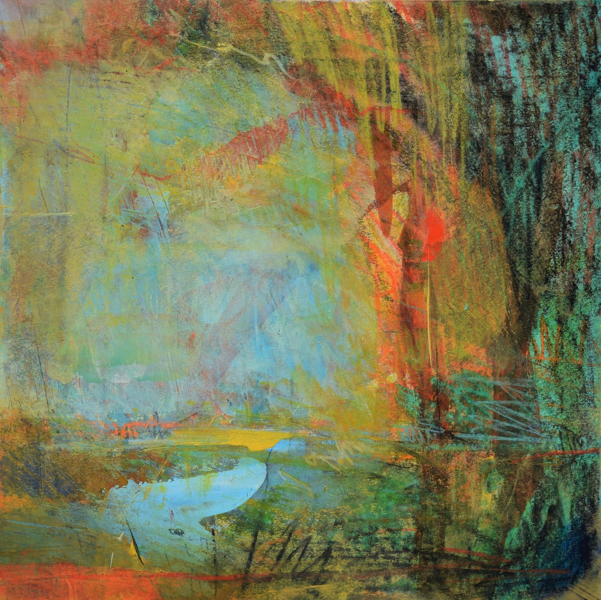 Abstract Landscape   Kim McAninch