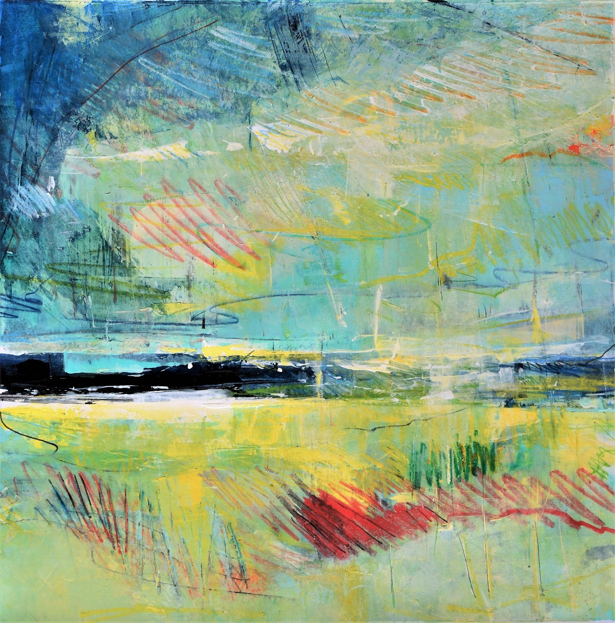 Framed Abstract Art   Kim McAninch