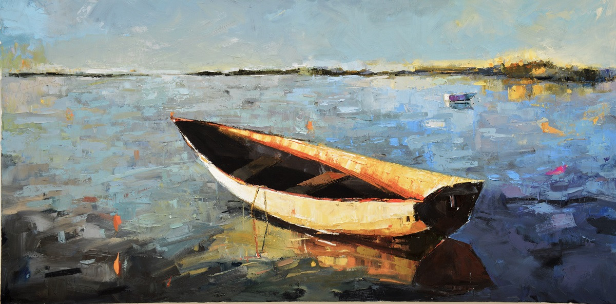 Landscape with Boat   Kim McAninch
