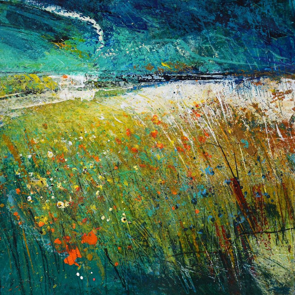 Abstract Landscape Wall Art   Kim McAninch
