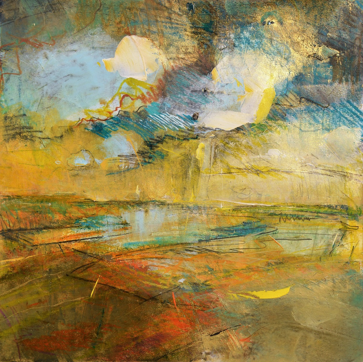 Abstract Landscape Art     Kim McAninch