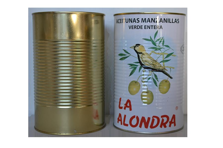 olives tin