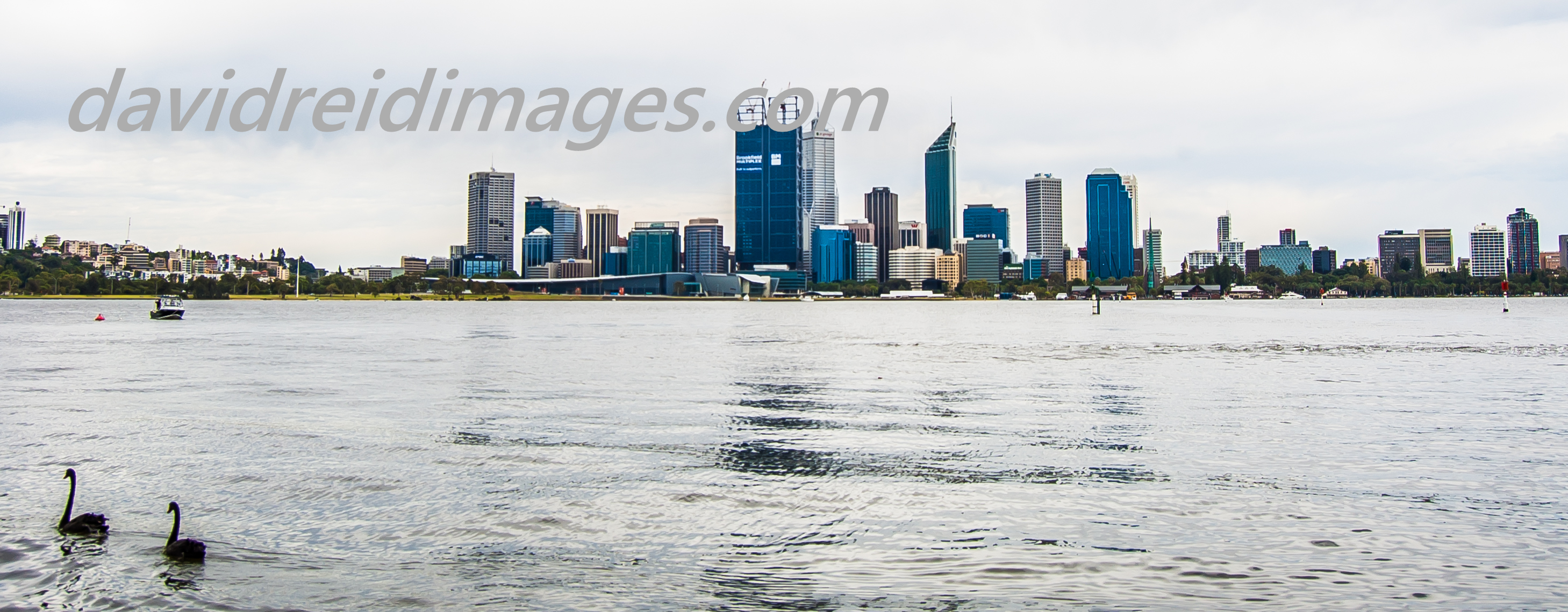 Perth Panoramic from South Perth