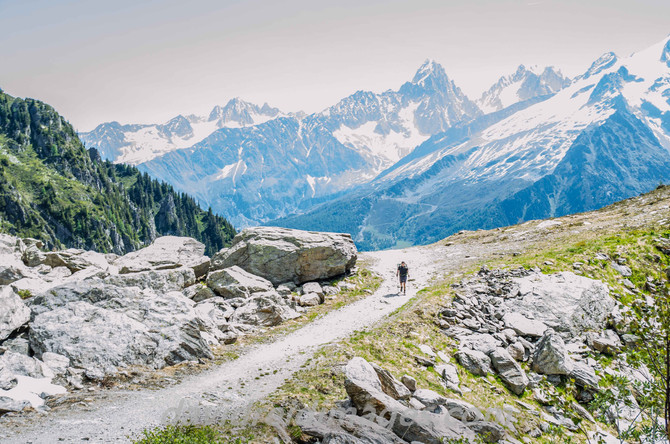 The Tour du Mont Blanc