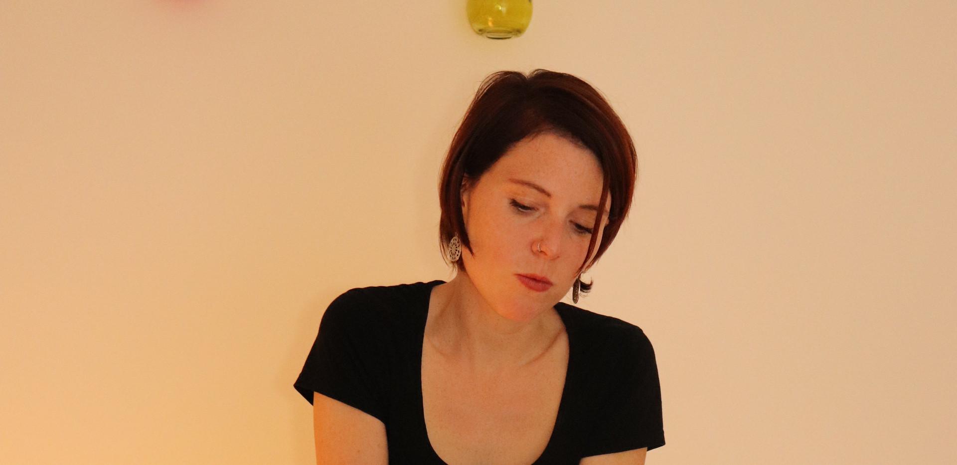 Massage prénatal tête