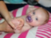 Massag bébé Rouen Darnetal 76