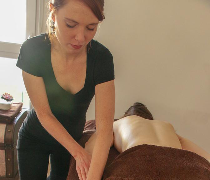 Massage bras