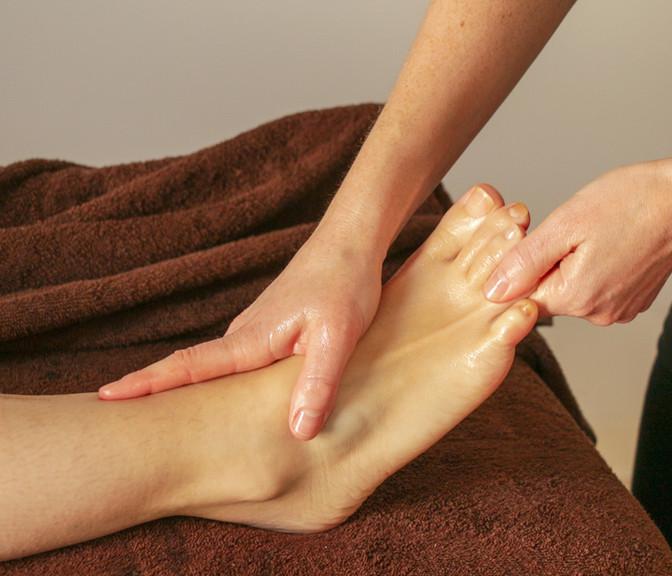 Massage pieds