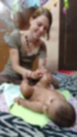 Massage Bébé Inde
