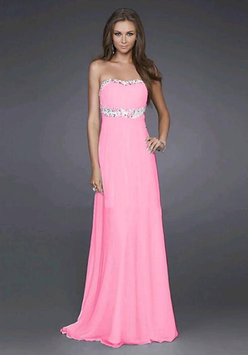 Resultado de imagen para vestidos de fiesta rosa