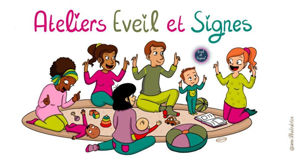 Cycle Eveil et Signes avec bébé