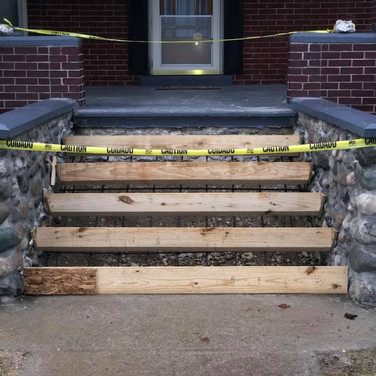 CONCRETE STEP CONSTRUCTION