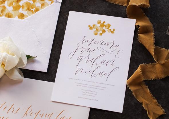 Honey Farm to Table Wedding Invitation