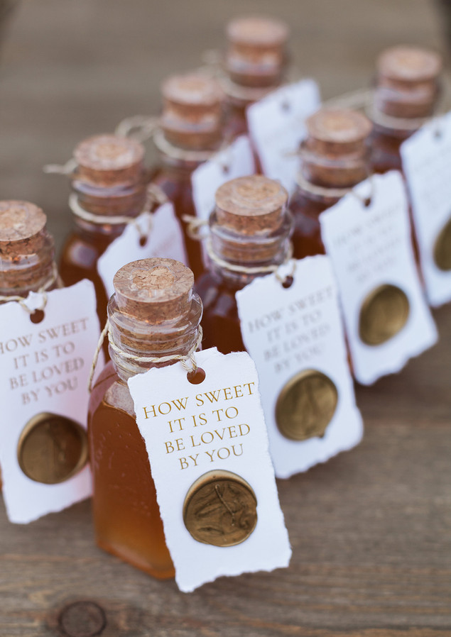 Honey Farm to Table Wedding Favor Tags