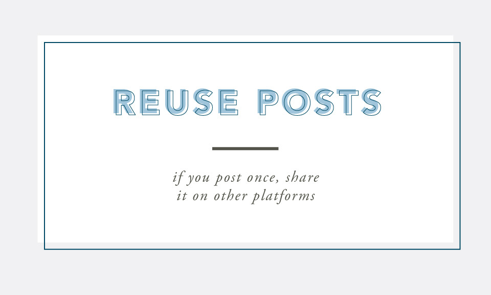 Reuse Posts