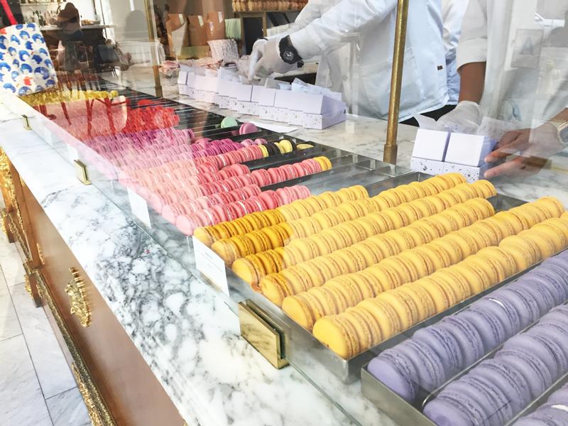Macarons at Louie Bottega in Los Angeles