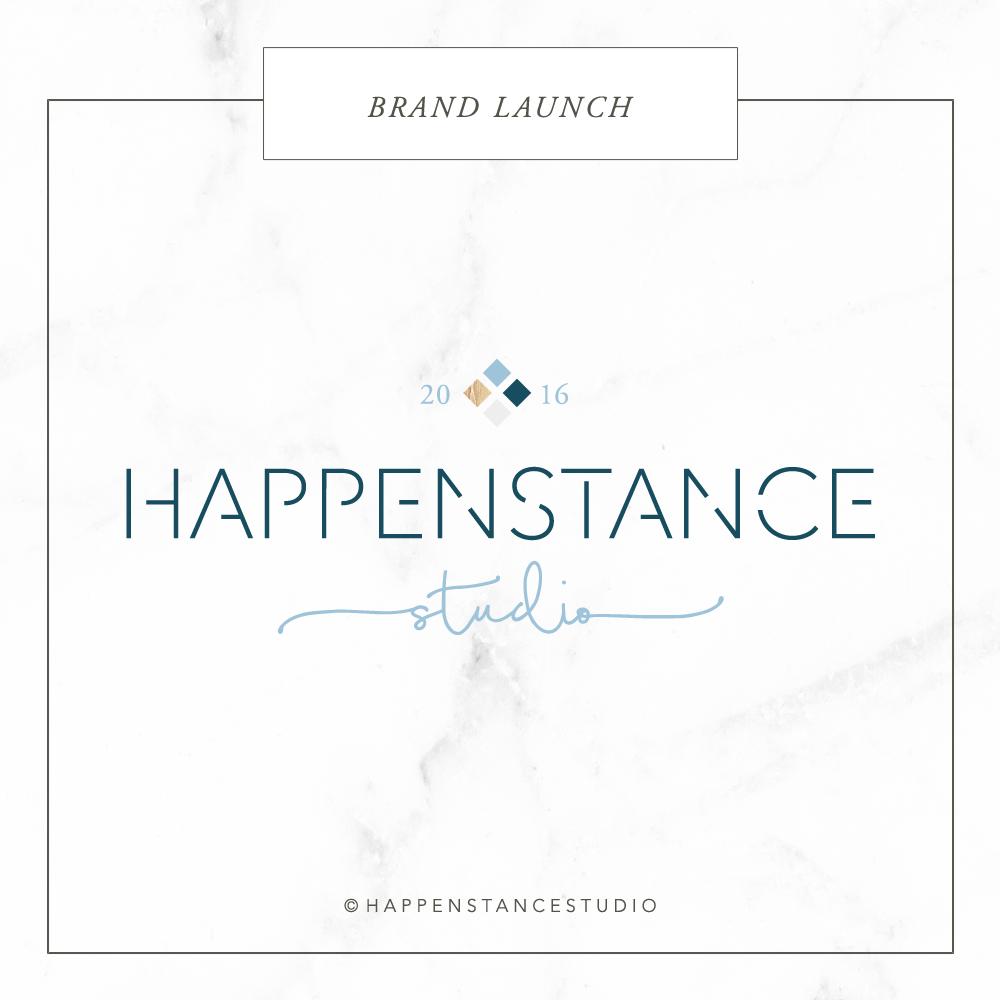 Happenstance Studio Brand Launch