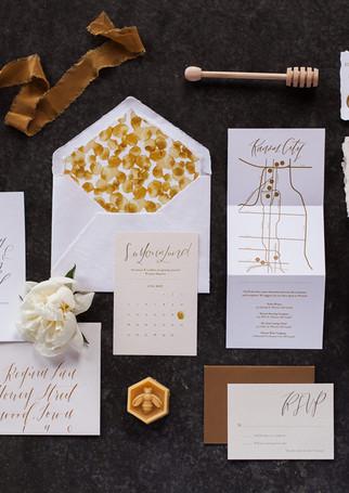 Honey Farm to Table Wedding Suite