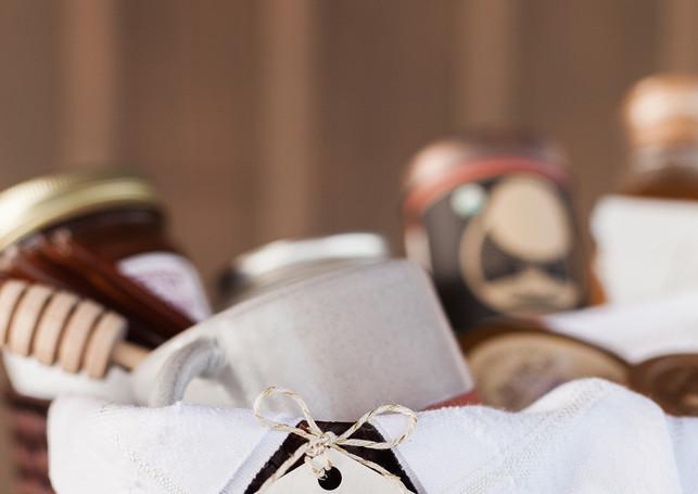 Honey Farm to Table Wedding Favors