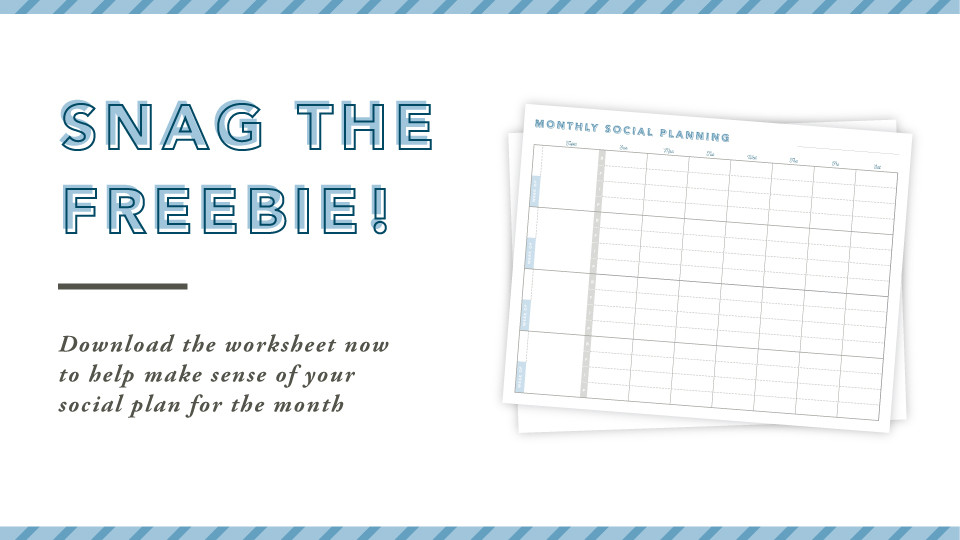Snag the Freebie Worksheet