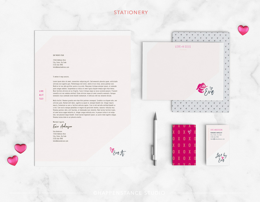 Evie Anderson Stationery