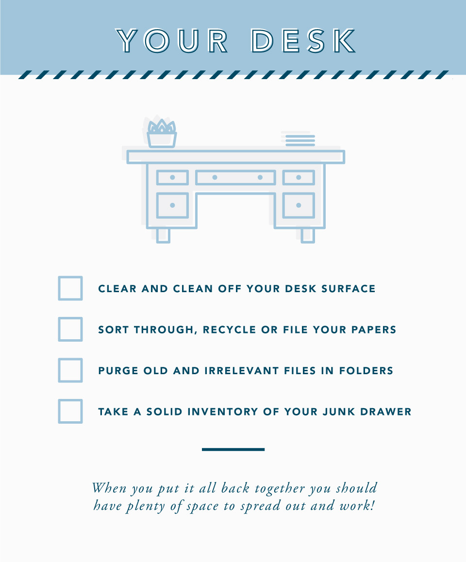 Spring Cleaning Tips for Your Desk