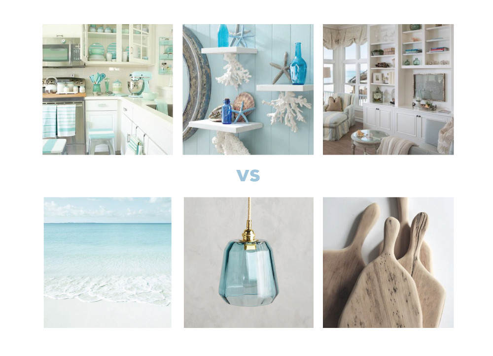 Cluttered images vs. clean images in a Pinterest search // Happenstance Studio