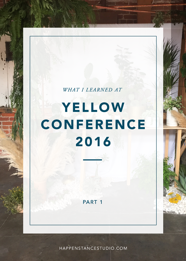 YELLOW CONFERENCE // PART 1
