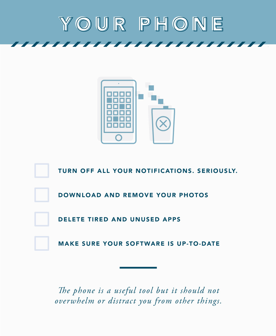 Spring Cleaning Tips for Your Phone