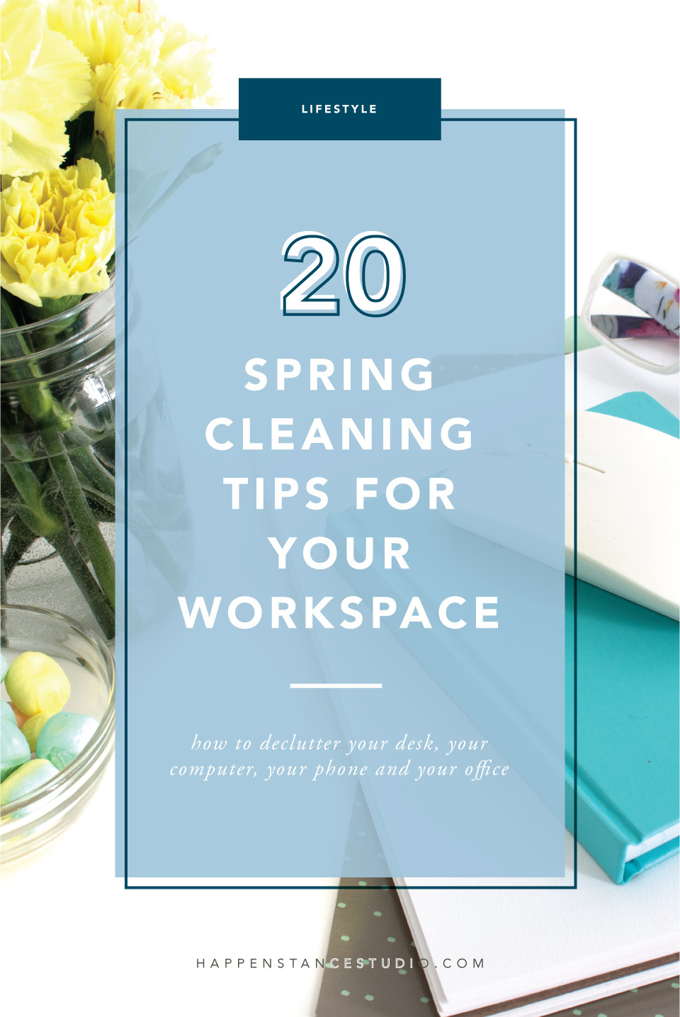 20 Spring Cleaning Tips for Your Workspace