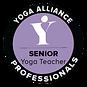 pic of Yoga alliance professionals logo.