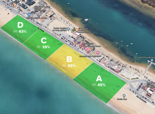 Crowd prevention system uses smart pole to create safer beaches