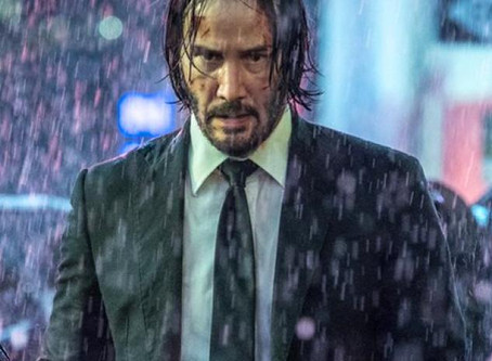 John Wick, a man of few words and many guns.