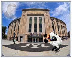 Stadium Tribute to George Steinbrenner 0