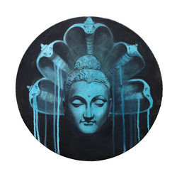 Buddha with Naag