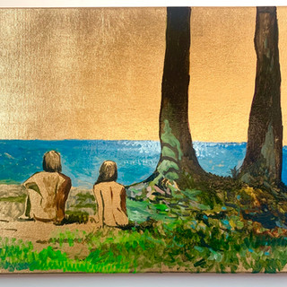 Beach Bathers (study)