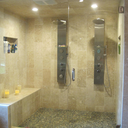 Spa Style Two Person Shower