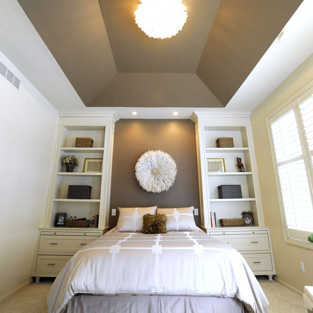 Tranquil Bedroom with Built-Ins
