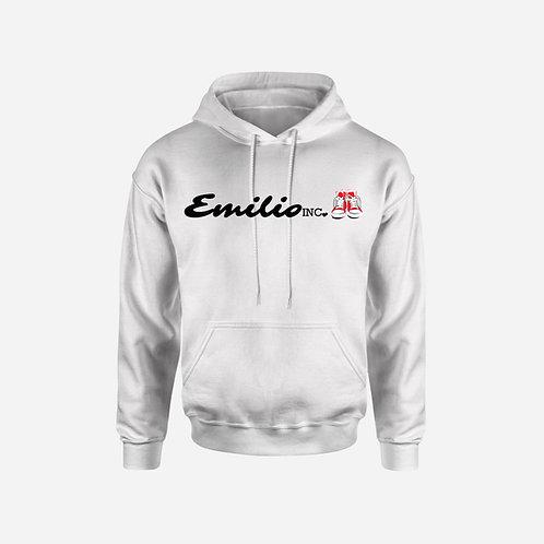 Emilio Inc. White Hoodie