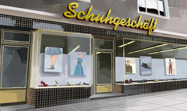 Harald Oehlerking Illustration Arte Der Schuh