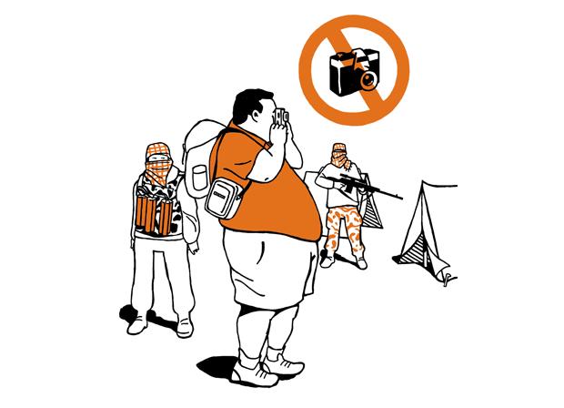 Harald Oehlerking Buch Illustration Ausländisch für Notfälle