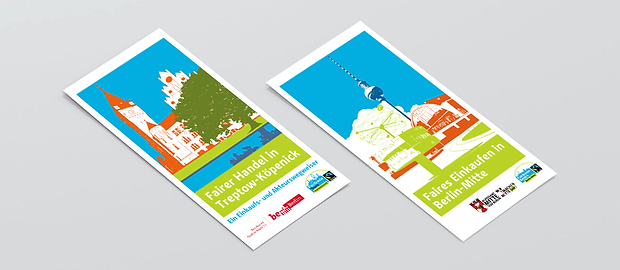 Harald Oehlerking Gestaltung Fairtrade Flyer